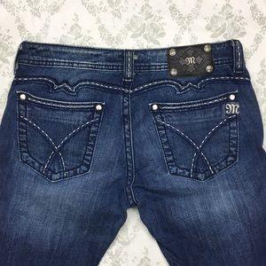 Miss me jeans Sz 31 x 34 boot